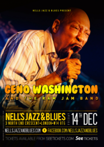 GENO WASHINGTON & THE RAM JAM BAND LIVE at Nell's, London