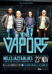 THE VAPORS LIVE at Nell's, London