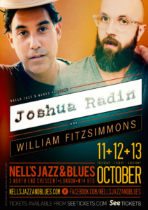 JOSHUA RADIN & WILLIAM FITZSIMMONS LIVE at Nell's, London