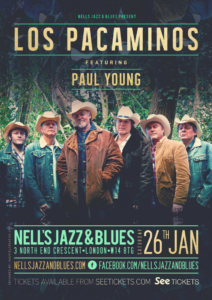 LOS PACAMINOS FEAT. PAUL YOUNG LIVE at Nell's, London