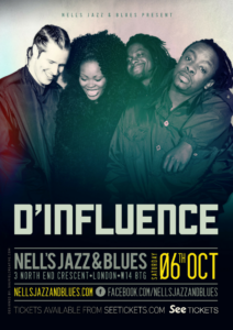 D'INFLUENCE LIVE at Nell's, London