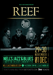 REEF LIVE at Nell's, London