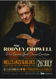 RODNEY CROWELL LIVE at Nell's, London