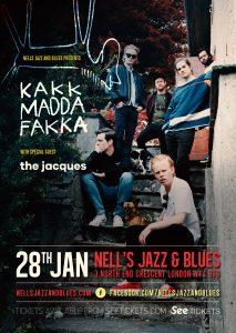 KAKKMADDAFAKKA LIVE at Nell's, London