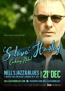Steve Harley & Cockney Rebel LIVE at Nell's, London