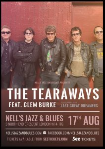 The Tearaways ft. Clem Burke LIVE at Nell's, London