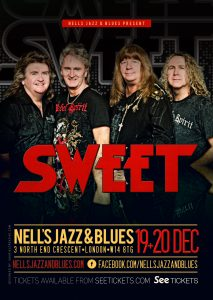 Sweet LIVE at Nell's, London