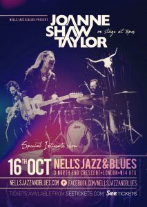 Joanne Shaw Taylor LIVE at Nell's, London