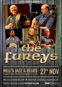 The Fureys LIVE at Nell's, London