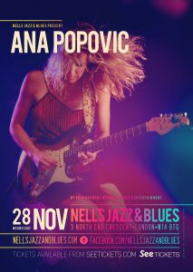 Ana Popovic LIVE at Nell's, London