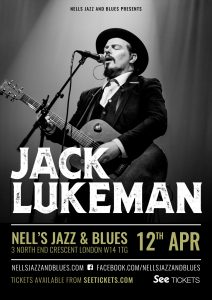 Jack Lukeman LIVE at Nell's, London