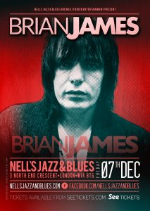Brian James LIVE at Nell's, London