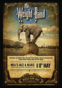 The Weight Band – featuring members of The Band & The Levon Helm Band LIVE at Nell's, London