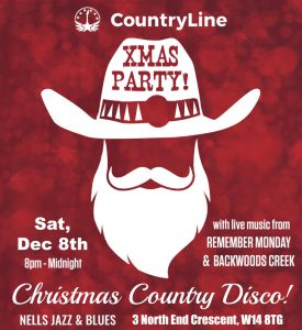 Country Christmas Party LIVE at Nell's, London