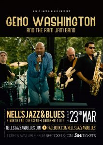 Geno Washington and The Ram Jam Band LIVE at Nell's, London