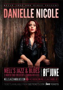 Danielle Nicole LIVE at Nell's, London