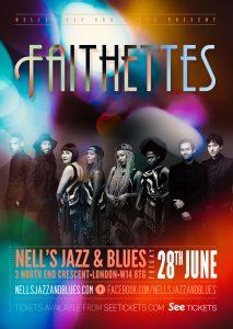 Faithettes LIVE at Nell's, London