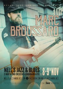 Marc Broussard LIVE at Nell's, London