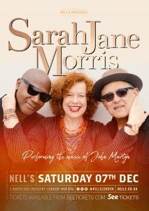 Sarah Jane Morris: The Music of John Martyn LIVE at Nell's, London