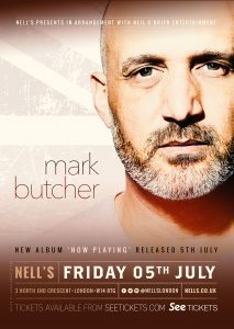Mark Butcher LIVE at Nell's, London