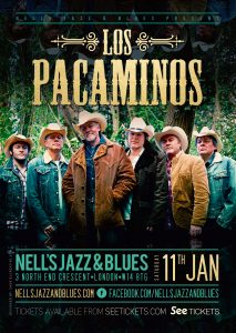 Los Pacaminos LIVE at Nell's, London