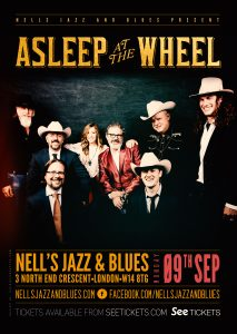 Asleep At The Wheel LIVE at Nell's, London