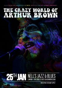 The Crazy World of Arthur Brown LIVE at Nell's, London