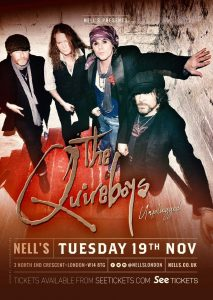 The Quireboys – Unplugged LIVE at Nell's, London