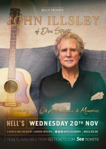 John Illsley LIVE at Nell's, London