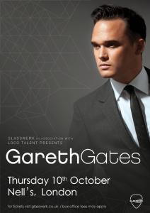 Gareth Gates LIVE at Nell's, London