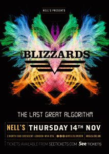 The Blizzards LIVE at Nell's, London