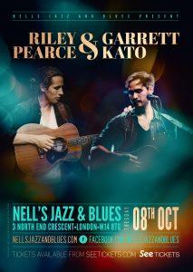 Riley Pearce & Garrett Kato LIVE at Nell's, London