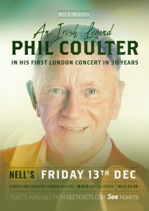 Phil Coulter LIVE at Nell's, London