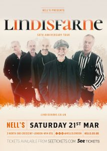 Lindisfarne LIVE at Nell's, London