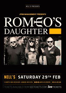 Romeo's Daughter LIVE at Nell's, London