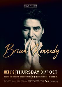 Brian Kennedy LIVE at Nell's, London