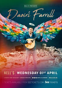 Daoirí Farrell LIVE at Nell's, London
