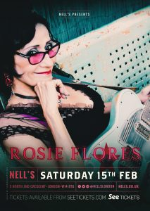 Rosie Flores LIVE at Nell's, London