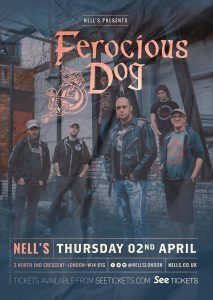 Ferocious Dog LIVE at Nell's, London
