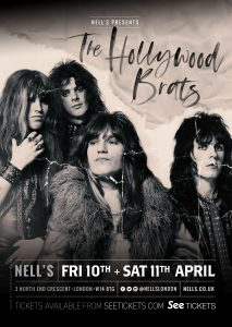 The Hollywood Brats LIVE at Nell's, London