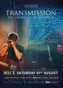 Transmission: The Sound of Joy Division LIVE at Nell's, London