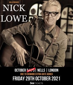 Nick Lowe LIVE at Nell's, London