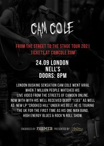 Cam Cole LIVE at Nell's, London
