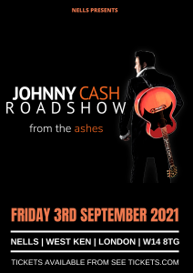 Johnny Cash Roadshow LIVE at Nell's, London
