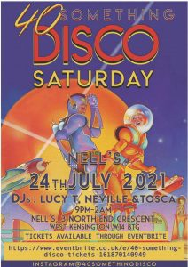 40somethingdisco LIVE at Nell's, London
