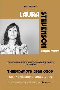 Laura Stevenson LIVE at Nell's, London
