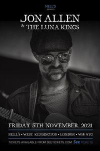 Jon Allen & The Luna Kings LIVE at Nell's, London